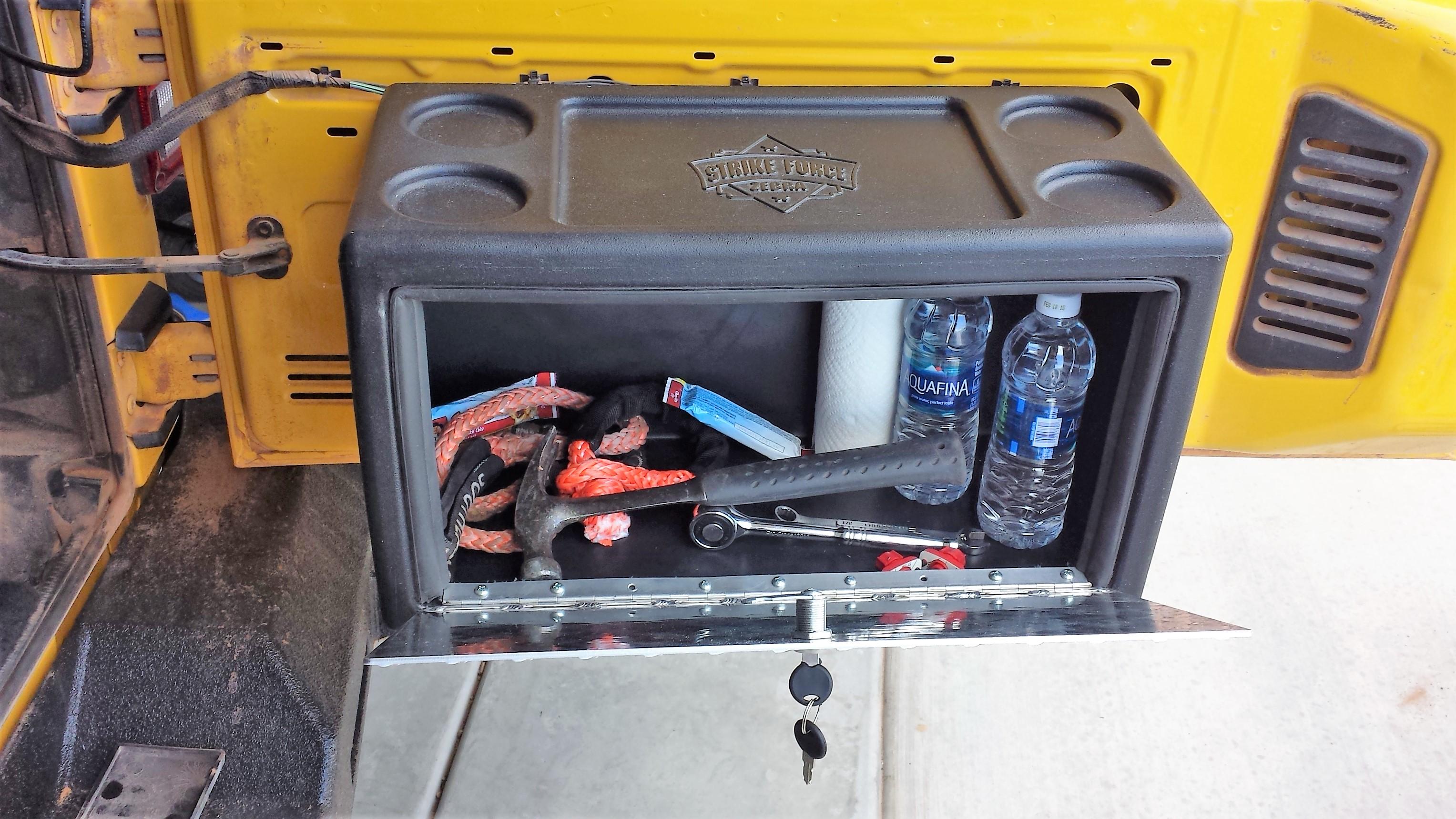 52af8e9a8a Jeep Lock Box | Jeep Storage Box | Strike Force Zebra
