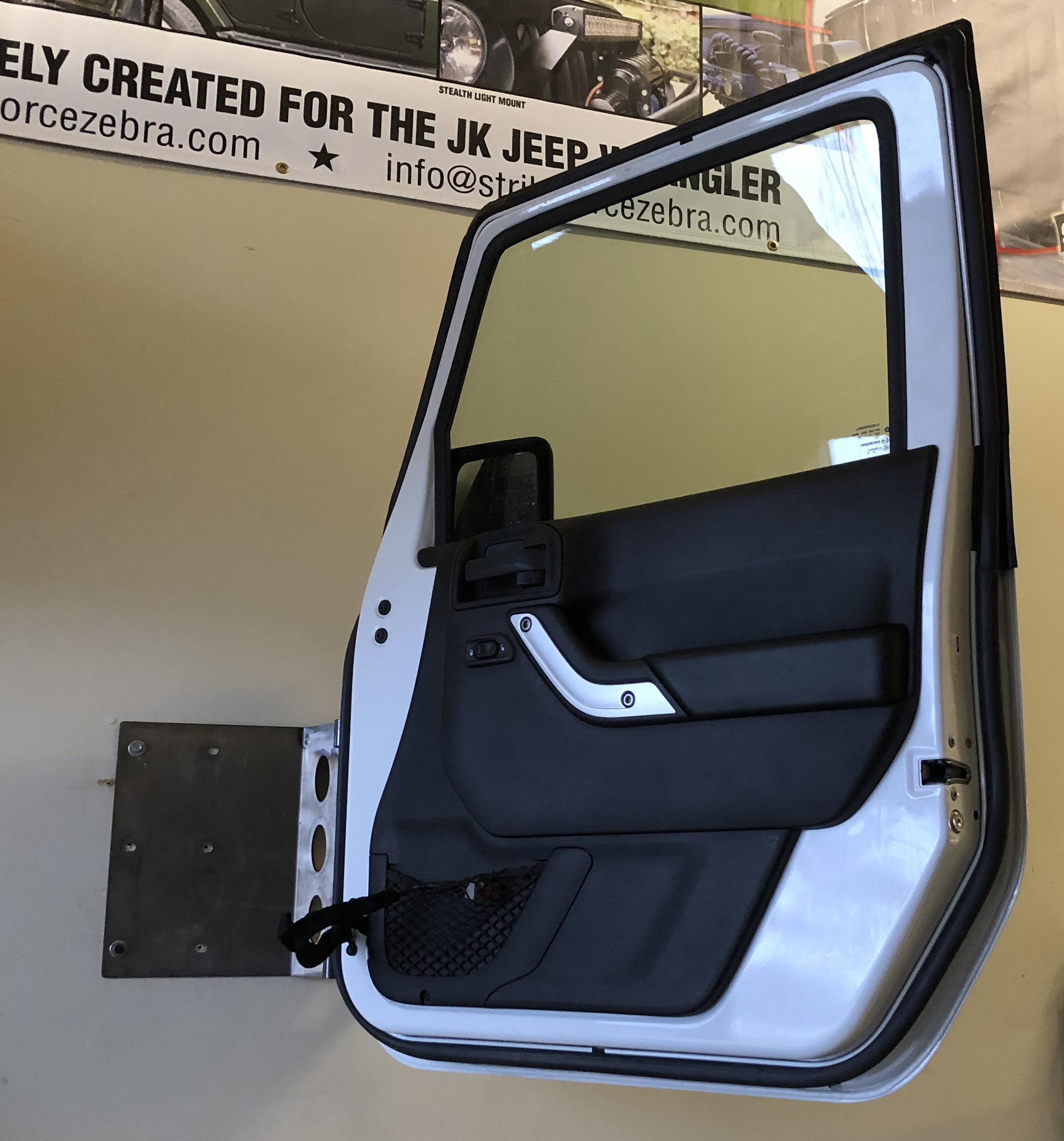 Jl Jk Door Hanger Strike Force Zebra Jeep View