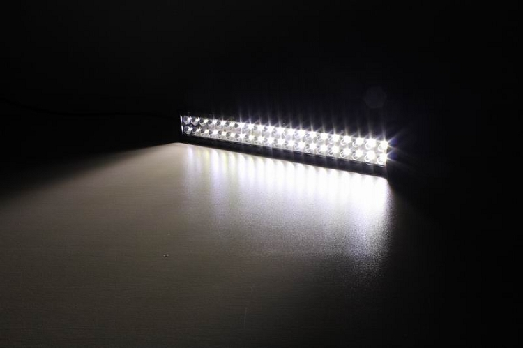 Amber Led Light Bar 20 Inch 120w Strike Force Zebra