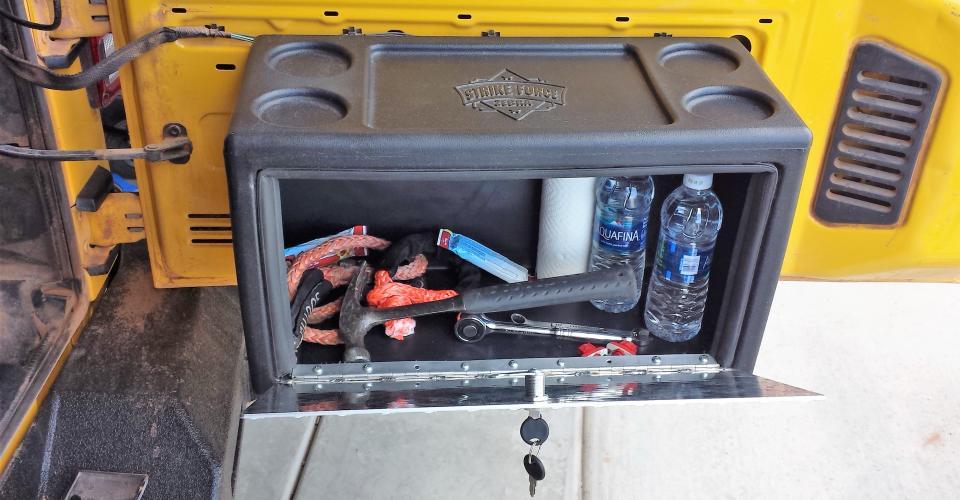 Jeep Lock Box | Jeep Storage Box
