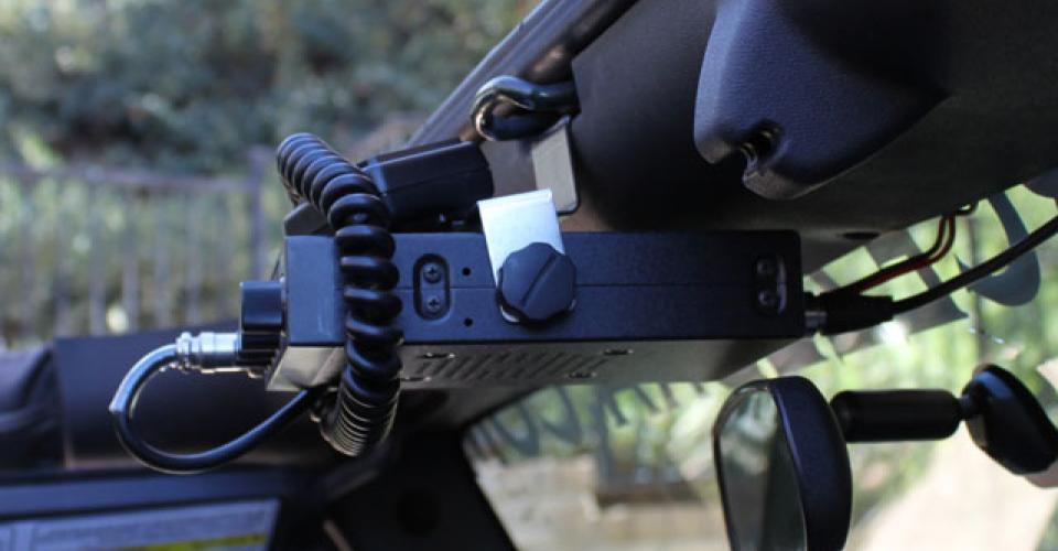 CB/GPS/Radar Detector Mount