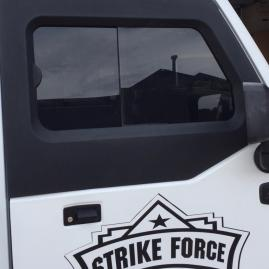Strike Force Zebra 2 door uppers - outside